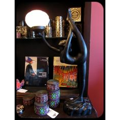 Deco Nude Lady Lamp, $165.00