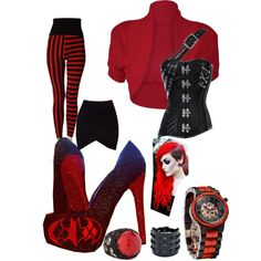 Harley by tabitha-renee-peace on Polyvore featuring polyvore fashion style Lush Stephen Webster Valentino