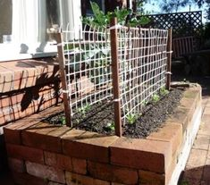 Super tidy and built to last raised brick garden. - Building Raised Beds, Garden Boxes and Planters