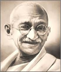 We must be the change we wish to see. Ghandi