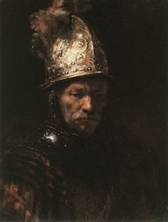 One of my favorites by Rembrandt. qb The Man with the Golden Helmet by Rembrandt van Rijn c. Most Famous Paintings, Famous Artists, Buy Paintings, Leiden, Rembrandt Paintings, Rembrandt Art, Rembrandt Self Portrait, Drawn Art, Dutch Painters