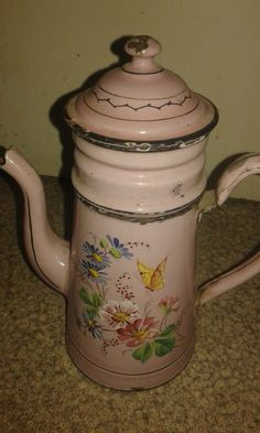 Vend Ancienne Cafetiere Emaillee | eBay