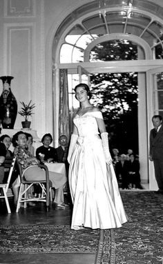 These are rare photographs from the estate and family of Vilem Heckel. The images are from a fashion show at Karlovy Vary in Bohemia sometime during the early to mid Bohemian Fashion, Bohemian Style, Socialism, 1950s, Fashion Show, Retro, Sweet, Image, Runway Fashion