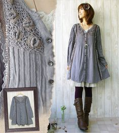 mori girl fashion - Google Search