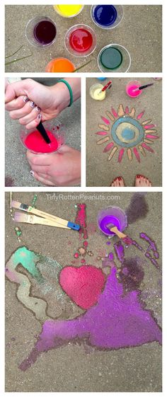 Embrace Your Inner Graffitist With This Sidewalk Paint Recipe