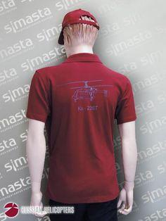 Рубашка поло вид со спины