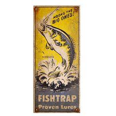 Image result for vintage fishtrap lures