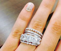 Diamond district jewelry shop with great attention to details. Custom engagement rings, wedding bands, anniversary rings and diamond jewelry for all occasions. Bling Bling, How To Wear Rings, Do It Yourself Jewelry, Engagement Celebration, Kate Bosworth, Ring Set, Dream Ring, Diamond Are A Girls Best Friend, Anniversary Rings