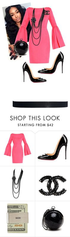 """""""Momma Outfit"""" by cogic-fashion ❤ liked on Polyvore featuring Honor, Christian Louboutin, Chanel and ASOS"""