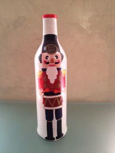 Desde mi galería . Reciclando botellas para Navidad.