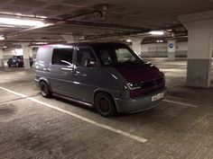 VW T4 grey purple