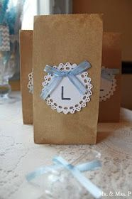 vintage baby shower ideas, or simply a nice way to decorate a jar turned into a vase.
