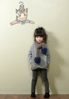 Korean fashion trender: [the jany] slim skinny pants Fashion Kids, Little Girl Fashion, Pop Fashion, Korean Fashion, Fashion Hair, Look Legging, Girl Outfits, Cute Outfits, Diy Vetement