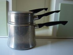 Mirro Aluminum Double Boiler Sauce Pan  1 1/2 by IcicleGarden