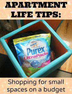 Apartment Life Tips: How to shop for small spaces on a budget plus a special Coupon Savings offer! #spon #shop #aplusvalues