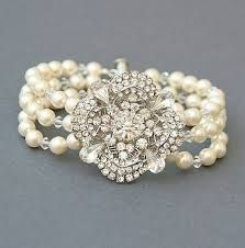 vintage pearl wedding jewellery - Google Search