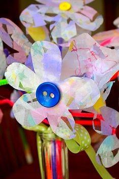 86 Best Flower Arts Crafts Images Art For Kids Flower Art