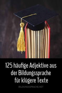 125 adjectives from the educational language for wiser texts - Deutsch - New education Plant Based Diet, Plant Based Recipes, Characteristics Words, Mit Dativ, German Language Learning, German Words, Health Care Reform, Learn German, New Words