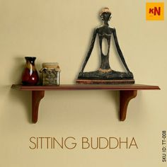 Sitting Buddha (SKU ID: TT-008) #Handicrafts #Homedecor #Art #Store #Shopping #Kraftnation