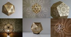 [Image] | 25 Sacred Geometry Inspired Lights And Lanterns By Cozo - TIMEWHEEL