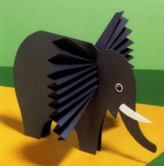 Best 12 accordion elephant craft ideas for kids – SkillOfKing. Animal Crafts For Kids, Easy Crafts For Kids, Craft Activities For Kids, Preschool Crafts, Diy For Kids, Craft Ideas, Diy Crafts For Gifts, Diy Arts And Crafts, Baby Crafts
