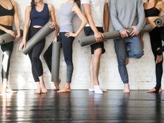 Yoga has come a long way in the past few years. Take a look at any studio's schedule and you'll see so many different types of yoga, from ashtanga yoga and kundalini yoga to aerial yoga… Yoga Vs Pilates, Pilates Workout, Pilates Reformer, Fitness Workouts, Acro, Yoga Studio Design, Beachbody Blog, Different Types Of Yoga, Workout Exercises