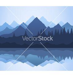 Mountain vector 518241 - by aleksander1 on VectorStock®