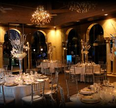 The Coral Gables Country Club | Miami Wedding & Special Event Venue | Wedding Planners Miami | Atrium Room