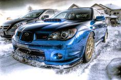 Subaru Impreza WRX STI illustration