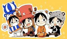 Luffy Chibis