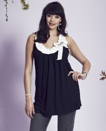 """Frock & Frill"" Frock & Frill Pageant Top - Length from 29in at Simply Be"