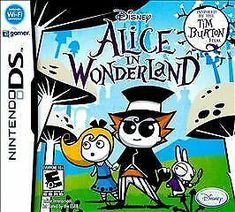 Alice in Wonderland nds is an action-adventure video game for Nintendo DS. This game developed by Étranges Libellules and published by Disney Interactive Really Fun Games, Nintendo 2ds, Nintendo Switch, Tim Burton Films, Challenging Puzzles, Ds Games, Classic Books, Best Graphics, Disney Inspired