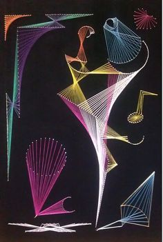 string art patterns - Google Search