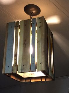 Pallet Pendant Light | 99 Pallets