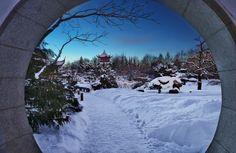 Jardin Botanique de Montréal en hiver