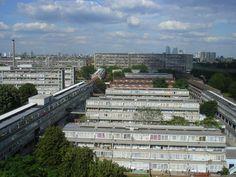 Aylesbury Estate Southwark, London.