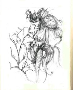 Fairy illustration. Alessandra Botti