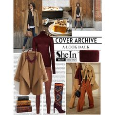 SHEIN CONTEST: KHAKI LOOSE CARDIGAN!!!!!! by antonija2807 on Polyvore featuring polyvore, fashion, style, Nicole Farhi, rag