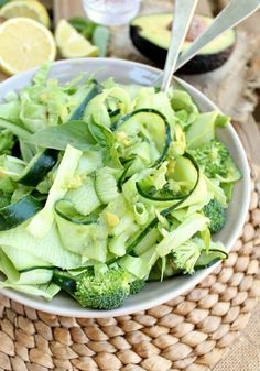 Green Monster Detox Salad by honeyandfigs #Salad #Green #Detox