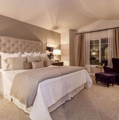 46 Modern And Romantic Master Bedroom Design Ideas bedroom inspirations master 46 Modern And Romantic Master Bedroom Design Ideas Small Master Bedroom, Master Bedroom Design, Home Decor Bedroom, Bedroom Furniture, Master Bedrooms, Master Suite, Bedroom Ideas Master For Couples, Kids Bedroom, Furniture Design