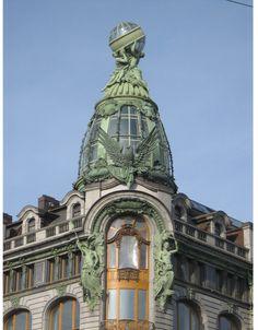 art nouveau architecture | Pin it Like Image