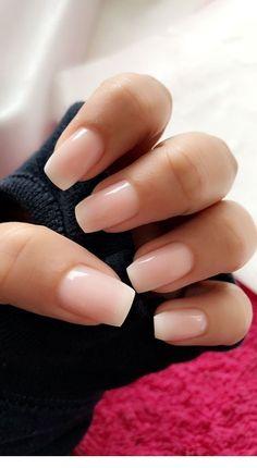 33 Gorgeous Wedding Nail Designs For Brides - blush pink nails, neutral wedding nails, neutral nail art designs Cute Summer Nails, Cute Nails, Pretty Nails, Cute Simple Nails, Spring Nails, Nail Summer, Nail Colors For Summer, Cute Simple Nail Designs, Simple Gel Nails