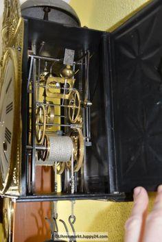 Burgunderuhr 8-Tage Werk - Mechanische - Standuhren - Tischuhren - Grandfather Clocks, Desk Clock