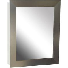Kitchen Cabinets Ideas   Zenith NRS2430 245 x 305 x 525 Nickel Framed Medicine Cabinet *** See this great product. Note:It is Affiliate Link to Amazon.