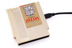 DISCOUNTED - NES External Hard Drive - The Legend of Zelda - 500GB usb 3.0. #geek #gamer #vintage #technology #tech #storage #nintendo