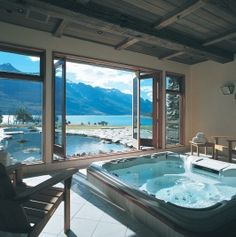 Blanket Bay Lodge  Queenstown, New Zealand :D