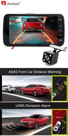 "[Visit to Buy] 3.0"" IPS Car DVR Camera Dash Cam FHD 1080P Video Recorder Registrator with LDWS ADAS Night Vision Dual Lens Car Camcorder DVRs #Advertisement"