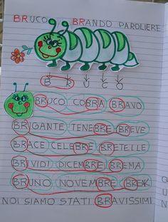 Italian Language, Preschool Worksheets, Primary School, Literacy, Math, Interactive Activities, Literacy Activities, Learning, Early Education