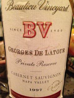 1997 BV-Georges Ge Latour Cabernet Sauvignon.....BIG!