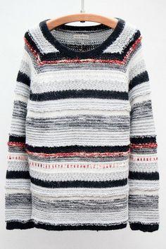 New Markdown: Weave Elena Pullover by Ulla Johnson $249 (Originally $415)